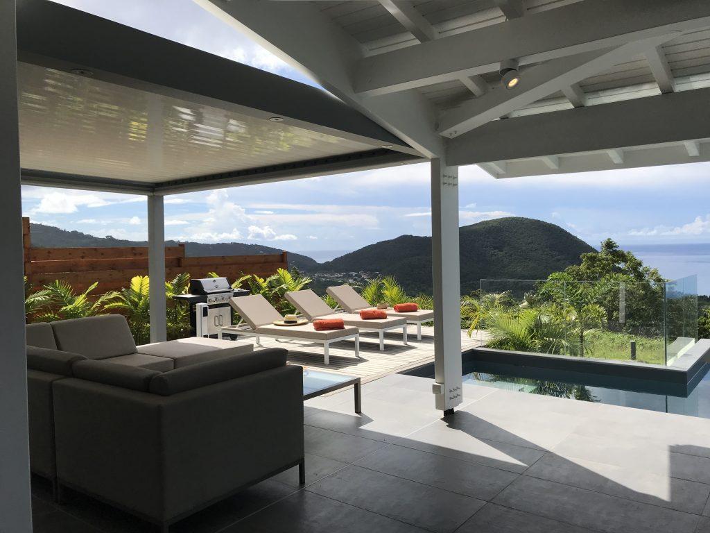 Terrasse et solarium