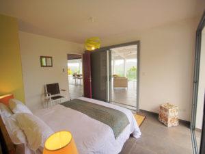 Guadeloupe Deshaies, Villa Gajah Mada pour 8 personnes
